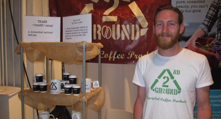 Mark Guerino, founder, 2nd Ground upcycled coffee ground soap