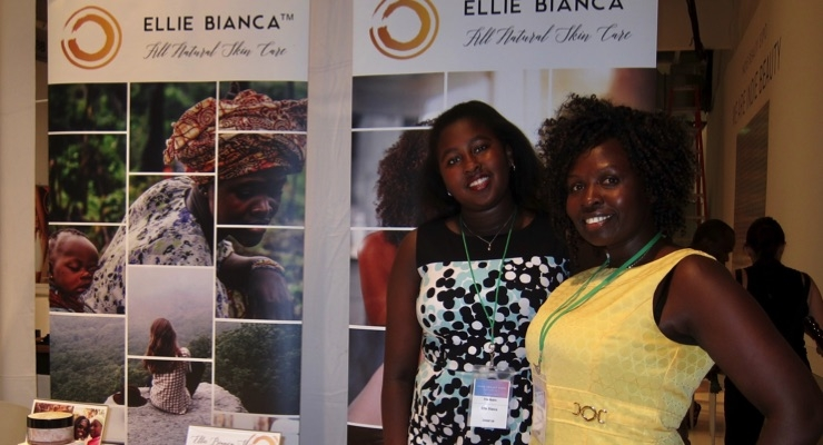 Ellie Bianca Skin Care Founder, Evelyne Nyairo, right with her daughter Eliana.