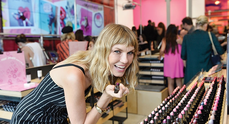 Angela Lindvall (photo: Getty Images for Smashbox)