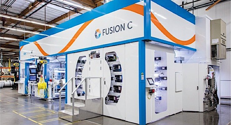 Label Technology completes installation of PCMC Fusion C flexo press