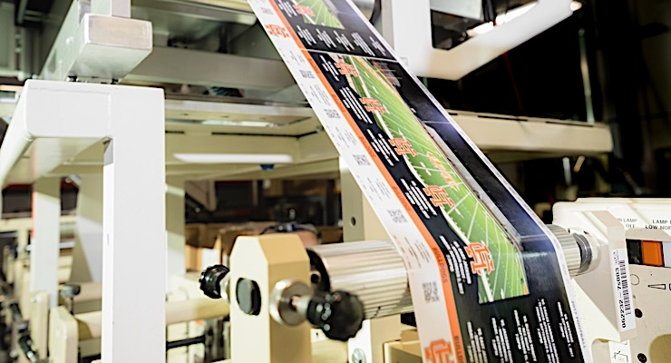 NCLPS, which recently installed a Colordyne Retrofit on its Mark Andy press, has taken a leading role in advertising futures in flexography.