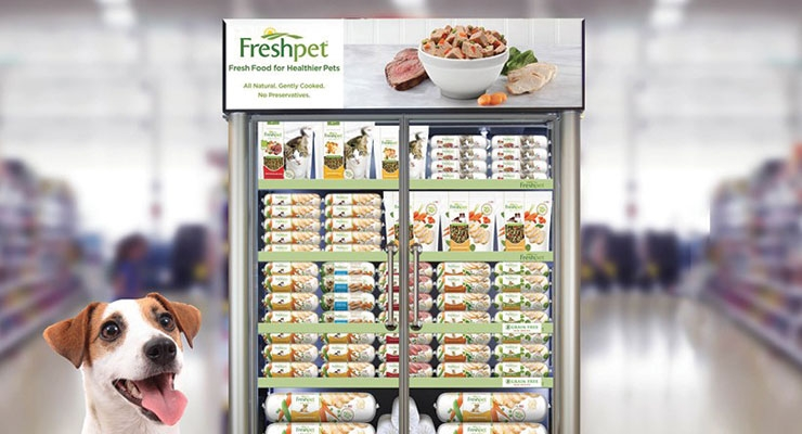 The refrigerated Freshpet line was met with considerable  interest in the U.K. thanks to its fresh, premium positioning.