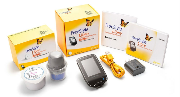 The FreeStyle Libre glucose monitoring system