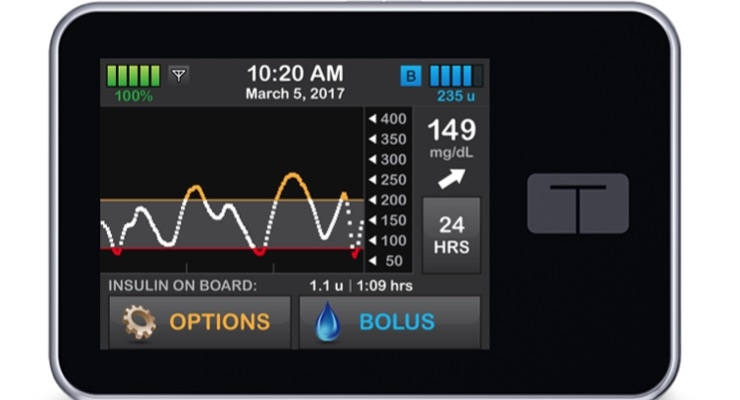 Tandem Diabetes Care Begins Enrollment in Pivotal Trial for First Touchscreen Insulin Pump