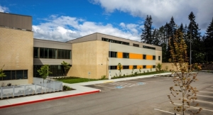 DURANAR GR Graffiti-resistant Coating by PPG Protects New Middle School