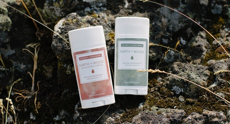 schmidts naturals and edens garden collaborate on deodorant - Edens Garden