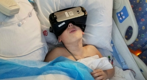 Virtual Reality Alleviates Pediatric Patients