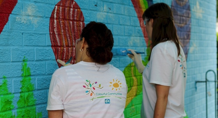 PPG Completes COLORFUL COMMUNITIES Project in Birstall, UK