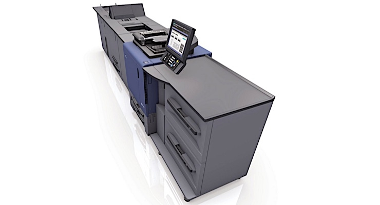 PPG Teslin receives BS 5609 certification with Konica Minolta bizhub Press C1070