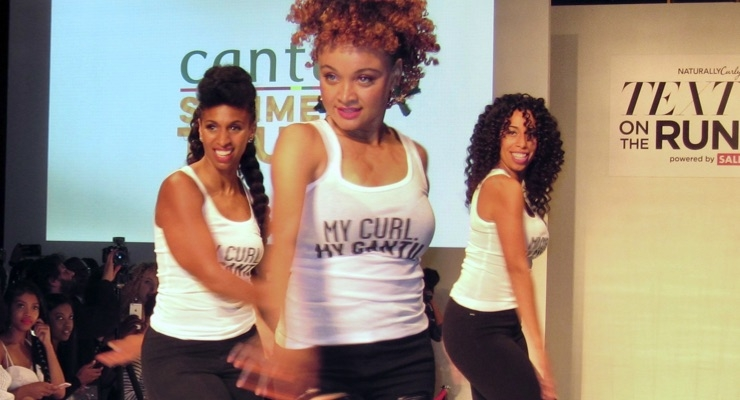 Cantu's collection came out dancing on the runway.