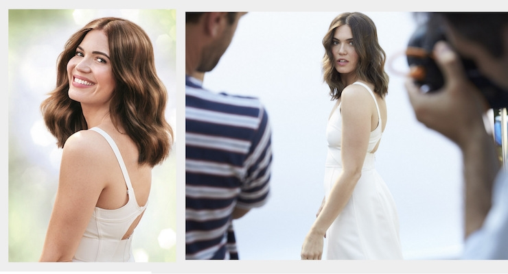 Mandy Moore Sports New Hair Color in Garnier Ad Campaign