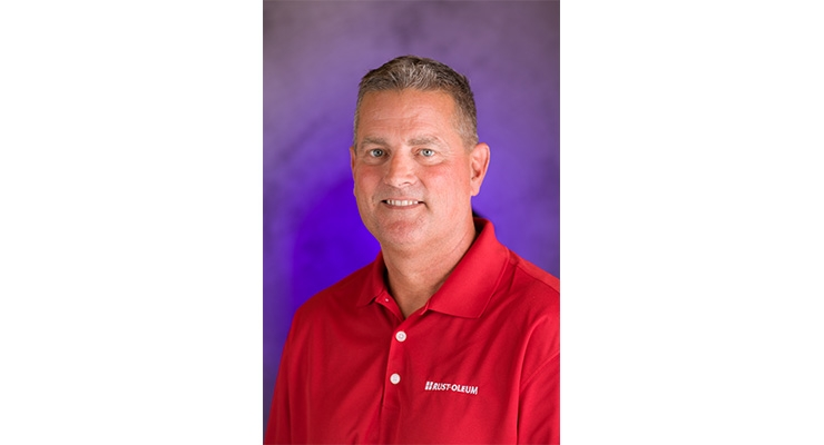 Rust-Oleum Restoration Business Manager Norm Sherwood
