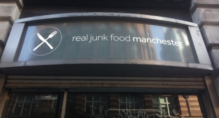 HMG Paints Supports Real Junk Food