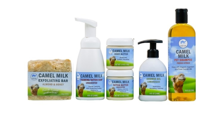 First-Ever Camel Milk Skincare Line Launches