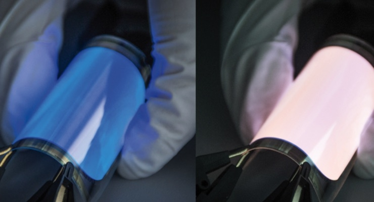 Fraunhofer FEP Designs Flexible OLEDs with Adjustable Colors