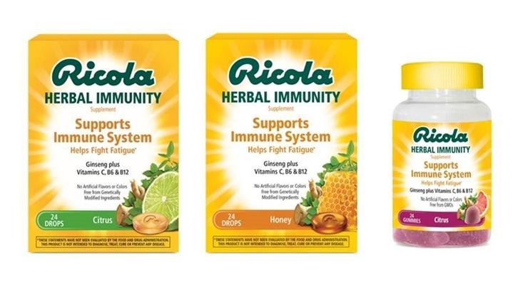 Ricola Introduces Herbal Immunity Gummies