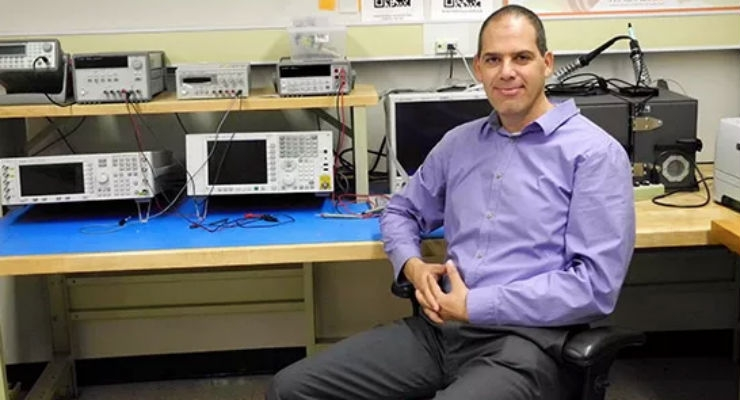 Gill Tsouri, associate professor of electrical engineering, is developing the video system algorithm and app for a new system to detect atrial fibrillation.