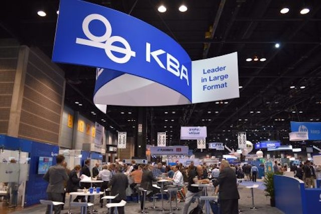 KBA PRINT 17 Booth Attracts Press Buyers, Generates Industry Enthusiasm