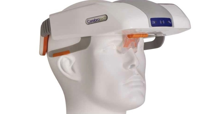 Cerebrotech Medical Systems is developing a portable, noninvasive neuro-monitoring device that allows for earlier detection of potentially life-threatening conditions such as large vessel occlusion stroke, cerebral edema, traumatic brain injury, and others. Image courtesy of Cerebrotech Medical Systems.