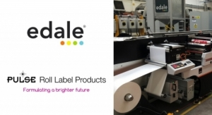 Edale, Pulse Roll Label Products Partner for Narrow Web Flexo Inks