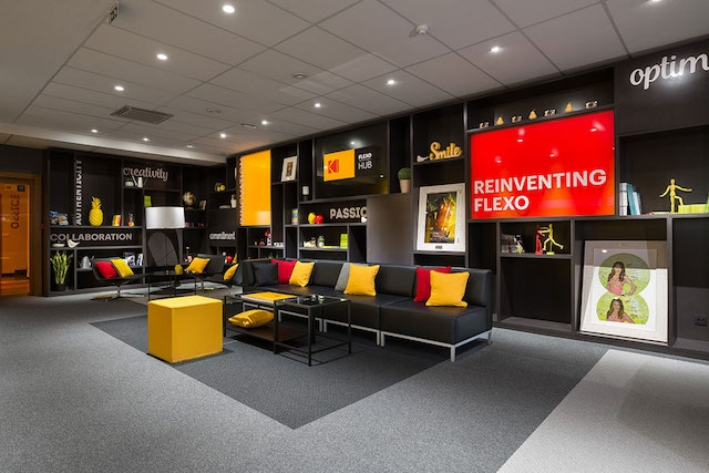 Kodak Opens Innovative New Flexo HUB in Brussels