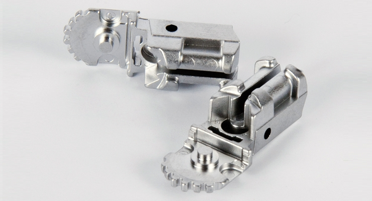 Near net shape metal injection molding is gaining  traction in the medical device market. Image courtesy of Micro.