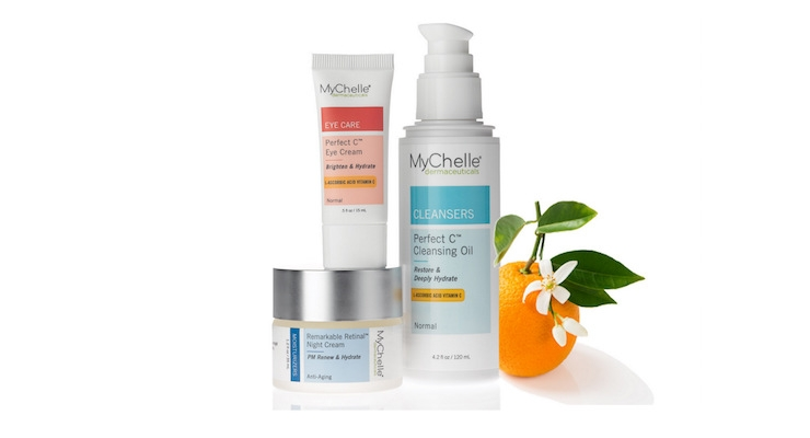 MyChelle Launches New Vitamin C & Retinol Products