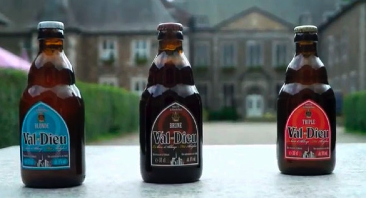 Label'Or unveils wash off labels on Val-Dieu beer bottles