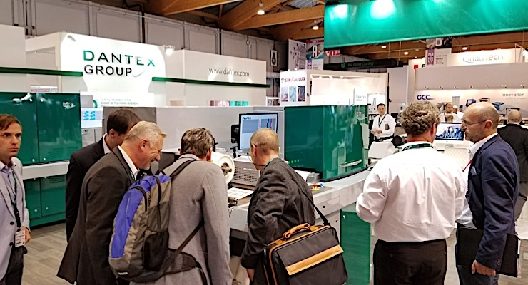 Dantex received late interest for the PicoColour II on Day 4 of Labelexpo Europe.