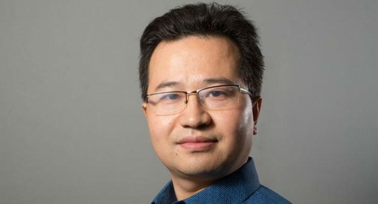 Zheng Chen, Bill D. Cook Assistant Professor of mechanical engineering, has received a NSF CAREER award to develop artificial muscle and tendons. Image courtesy of University of Houston.