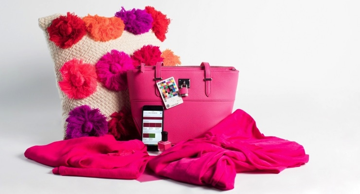 Think pink....and purple and red with Pantone.