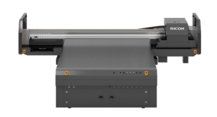 Ricoh Enters Industrial Decoration Market With First UV Flatbed Printer