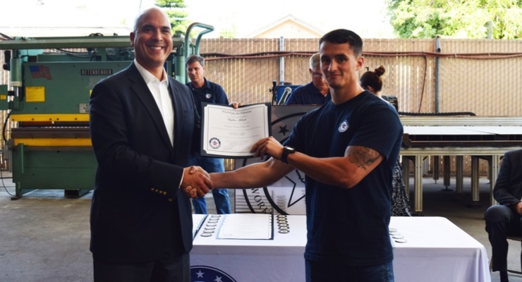 CCAI Partners with Workshops for Warriors