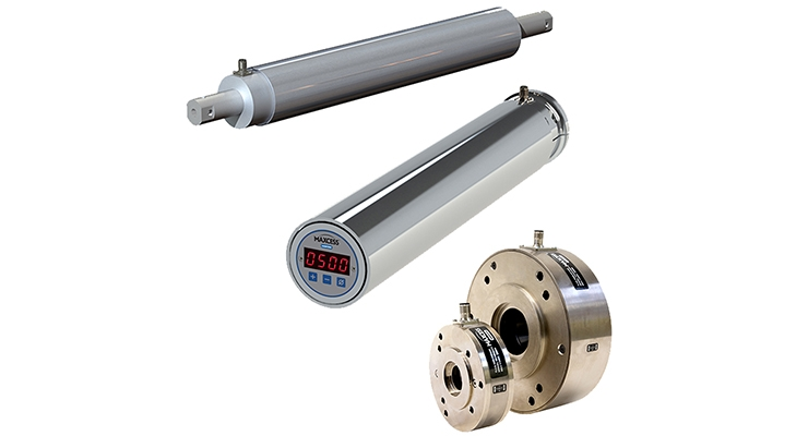 The CSR Cantilevered Tension Sensing Roller, the ISR Integrated Sensing Roller and the TLCB, a larger size of the Thin Load Cell