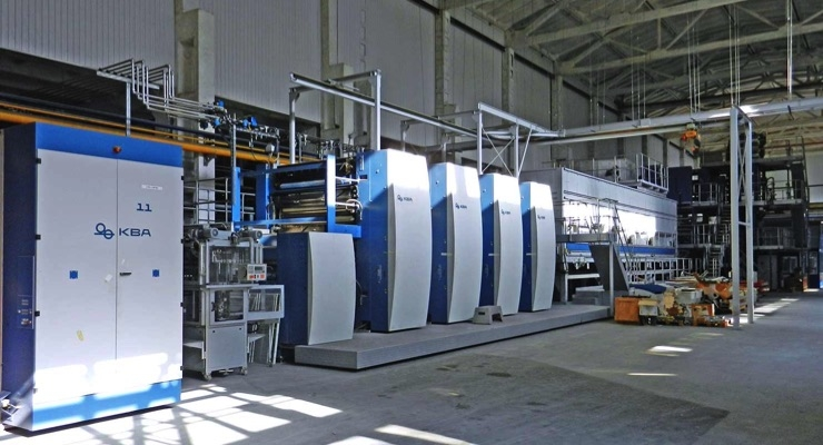 EDS Group Adds Three Compacta 818 Presses
