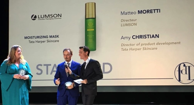 Lumson Wins Packaging Award During Luxe Pack Monaco