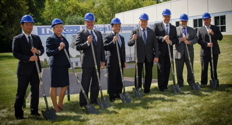INX Begins West Chicago R&D Expansion