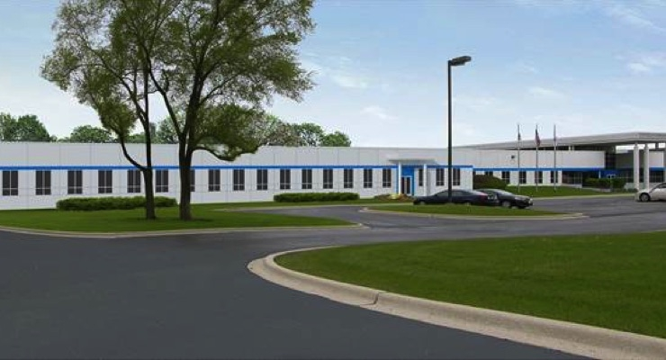With an expected completion date of July 2018, the expanded R&D facility in West Chicago, IL will more than double in size to 56,000 square-feet of space.