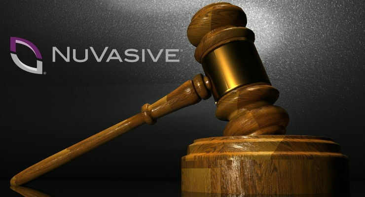 NuVasive Files Lawsuit Against Former Vice Chairman