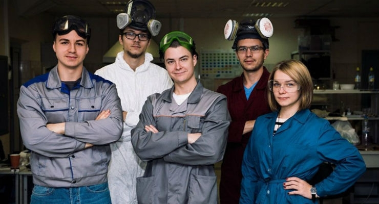 Team of scientists under the guidance of Fedor Senatov. All images courtesy of PRNewsfoto/NUST MISIS.