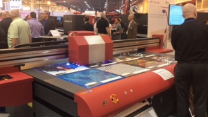 EFI Offers LED, Textile, Flatbed Technology at SGIA Expo