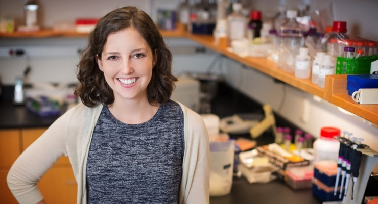 Molly Schumer, one of five For Women in Science Fellowship Award winners