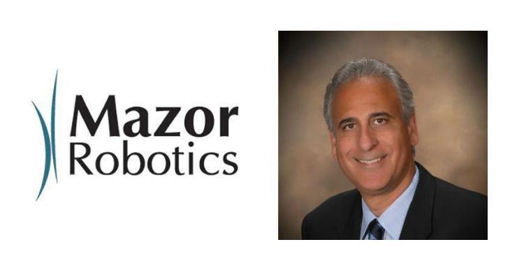 Mazor Robotics Appoints Industry Veteran as VP Business Develepment