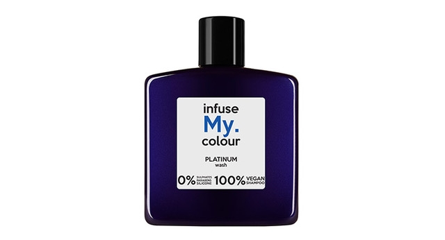 Infuse My. Colour Wash includes a variety of shades, including platinum.