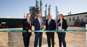 Croda Dedicates Biorenewable Surfactant Plant