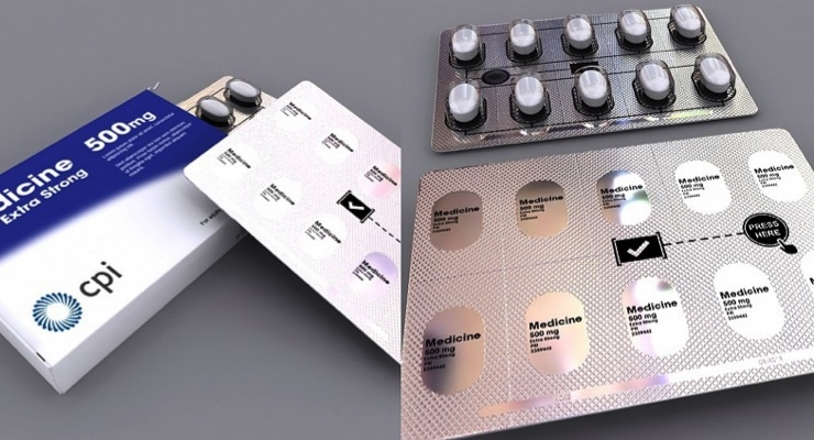 Smart packaging for medicines. (Source: CPI)