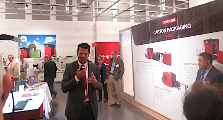 Xeikon Café North America features Innovation Center tour, presentations