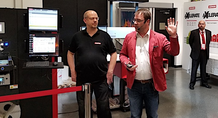 Xeikon Café hosts inaugural event in North America