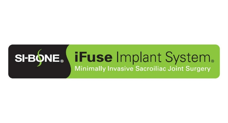 NASS News: SI-BONE Features iFuse-Navigation Set and Fenestrated SI Joint Fusion Implant