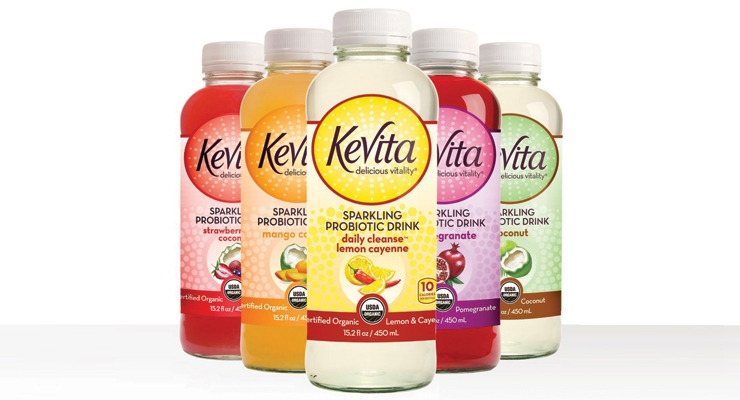 Kevita was acquired by PepsiCo and has sales approaching $100 million.